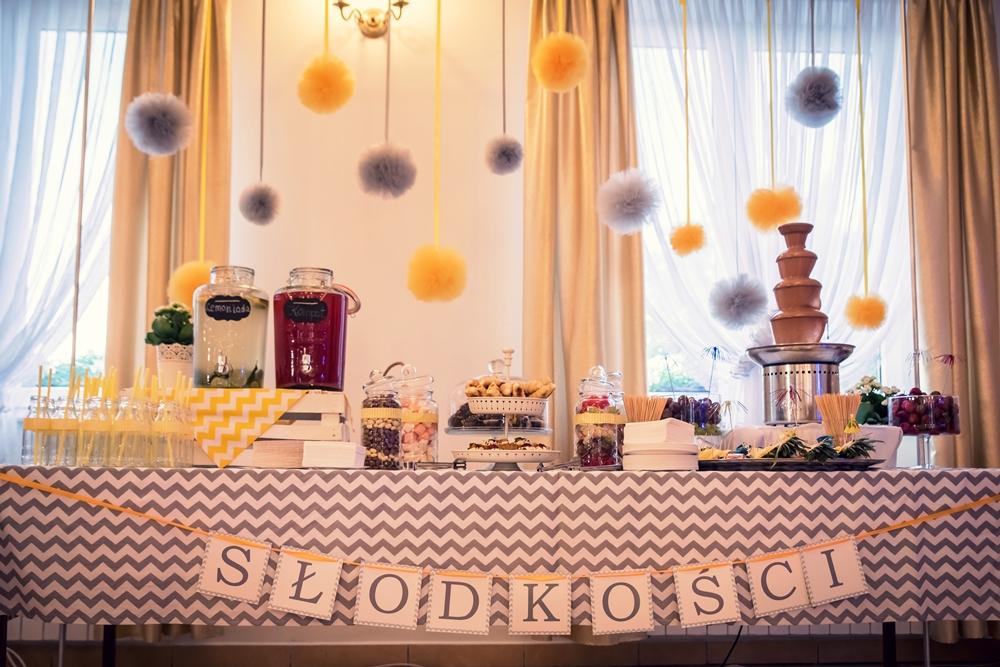 organizacja wesel, słodki stół