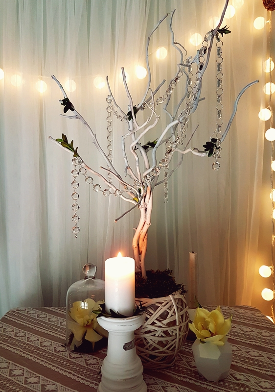 Białe Dekoracyjne Drzewka A Może W Kolorze